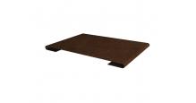 Металлические доборные элементы для фасада в Наро-Фоминске Планка стыковочная простая 60мм